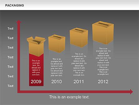 Packaging Timeline Diagram, Slide 16, 00643, Timelines & Calendars — PoweredTemplate.com