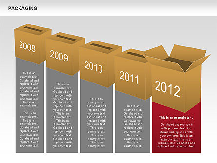 Packaging Timeline Diagram, Slide 7, 00643, Timelines & Calendars — PoweredTemplate.com