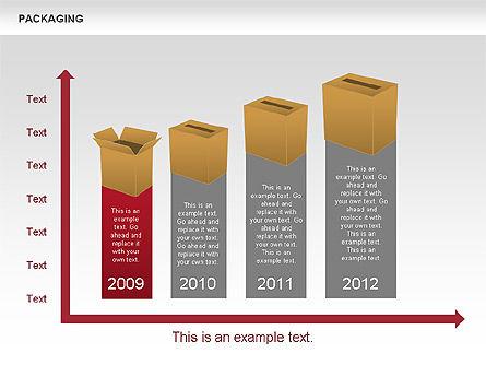 Packaging Timeline Diagram, Slide 9, 00643, Timelines & Calendars — PoweredTemplate.com