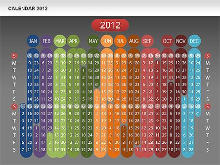 Calendar 2012, 00646, Timelines & Calendars — PoweredTemplate.com