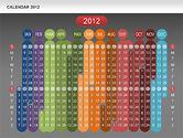 Timelines & Calendars: Kalender 2012 #00646