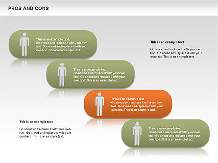 Pros and Cons, Slide 10, 00649, Business Models — PoweredTemplate.com