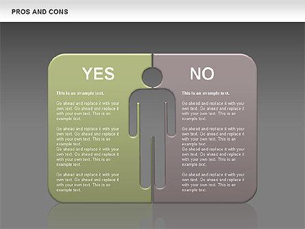 Pros and Cons, Slide 11, 00649, Business Models — PoweredTemplate.com