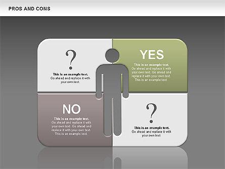 Pros and Cons, Slide 12, 00649, Business Models — PoweredTemplate.com