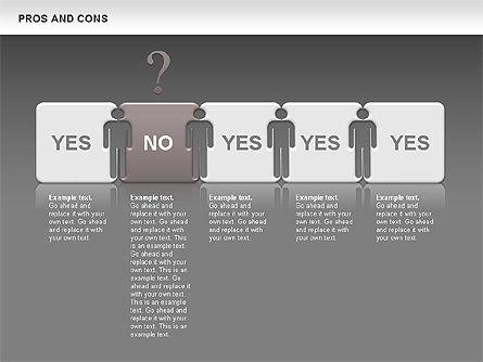 Pros and Cons, Slide 13, 00649, Business Models — PoweredTemplate.com