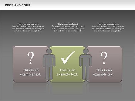 Pros and Cons, Slide 14, 00649, Business Models — PoweredTemplate.com