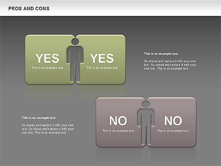 Pros and Cons, Slide 15, 00649, Business Models — PoweredTemplate.com