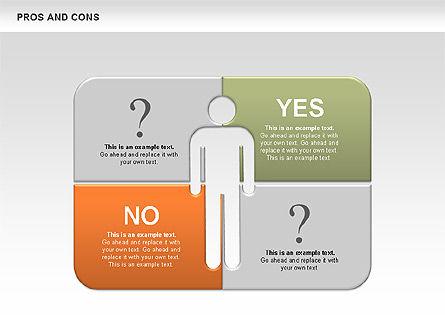 Pros and Cons, Slide 2, 00649, Business Models — PoweredTemplate.com