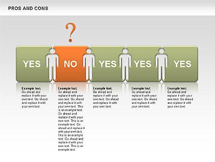 Pros and Cons, Slide 3, 00649, Business Models — PoweredTemplate.com