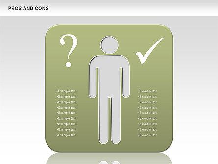 Pros and Cons, Slide 4, 00649, Business Models — PoweredTemplate.com