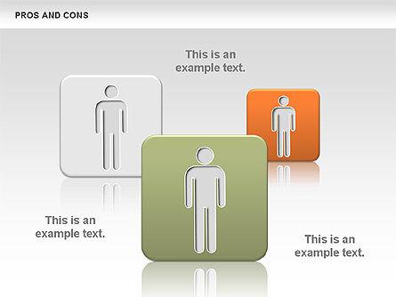Pros and Cons, Slide 6, 00649, Business Models — PoweredTemplate.com