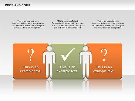 Pros and Cons, Slide 7, 00649, Business Models — PoweredTemplate.com