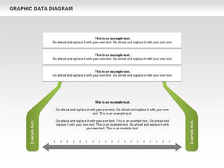 Graphics Data Diagram, Slide 10, 00651, Business Models — PoweredTemplate.com