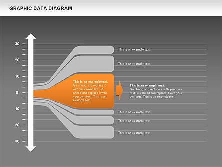 Graphics Data Diagram, Slide 12, 00651, Business Models — PoweredTemplate.com