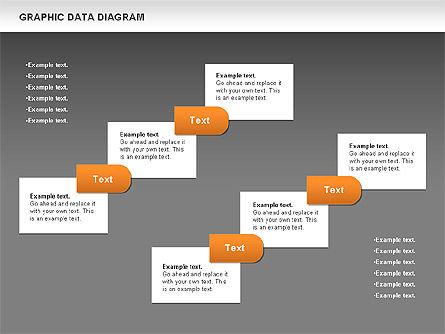 Graphics Data Diagram, Slide 13, 00651, Business Models — PoweredTemplate.com