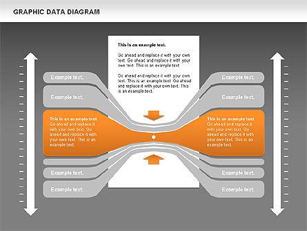 Graphics Data Diagram, Slide 14, 00651, Business Models — PoweredTemplate.com