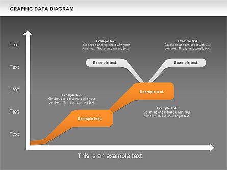 Graphics Data Diagram, Slide 16, 00651, Business Models — PoweredTemplate.com