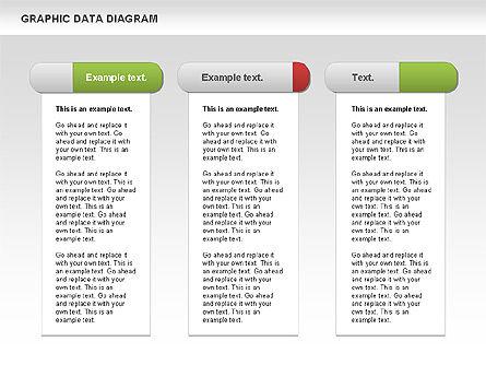 Graphics Data Diagram, Slide 2, 00651, Business Models — PoweredTemplate.com