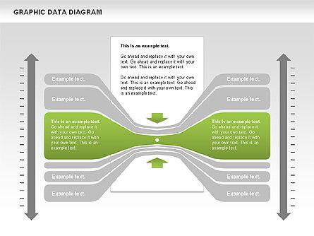 Graphics Data Diagram, Slide 5, 00651, Business Models — PoweredTemplate.com