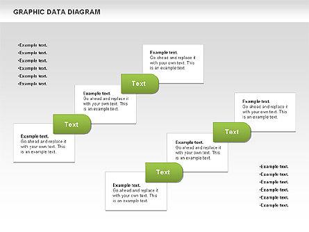 Graphics Data Diagram, Slide 6, 00651, Business Models — PoweredTemplate.com