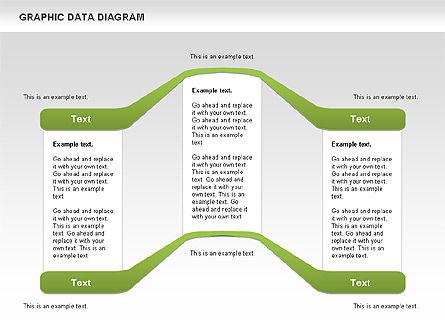 Graphics Data Diagram, Slide 7, 00651, Business Models — PoweredTemplate.com