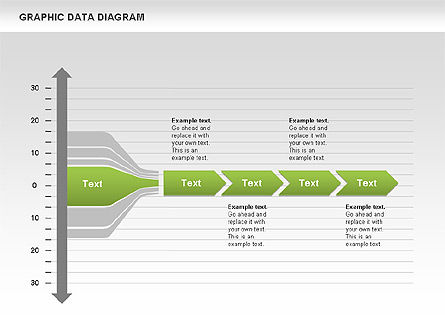Graphics Data Diagram, Slide 8, 00651, Business Models — PoweredTemplate.com