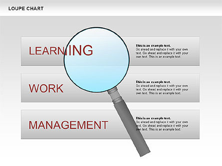 Loupe Chart, Slide 4, 00654, Business Models — PoweredTemplate.com