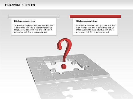 Financial Puzzle, Slide 11, 00656, Business Models — PoweredTemplate.com