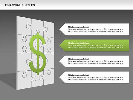 Financial Puzzle, Slide 12, 00656, Business Models — PoweredTemplate.com