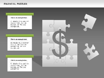 Financial Puzzle, Slide 13, 00656, Business Models — PoweredTemplate.com
