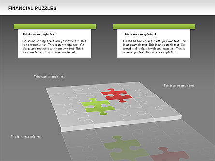 Financial Puzzle, Slide 15, 00656, Business Models — PoweredTemplate.com