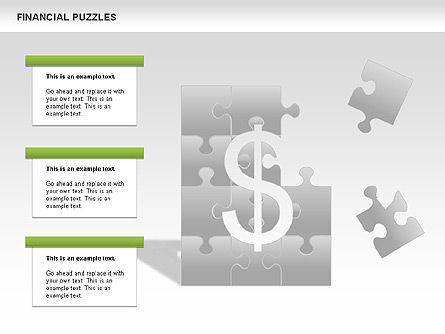 Financial Puzzle, Slide 3, 00656, Business Models — PoweredTemplate.com
