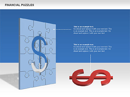 Financial Puzzle, Slide 4, 00656, Business Models — PoweredTemplate.com