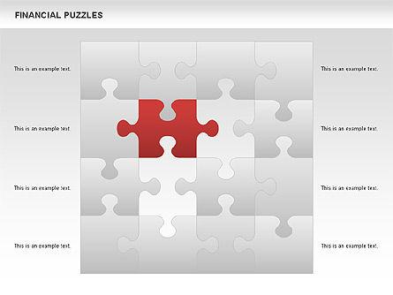 Financial Puzzle, Slide 5, 00656, Business Models — PoweredTemplate.com