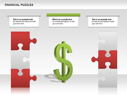 Financial Puzzle, Slide 6, 00656, Business Models — PoweredTemplate.com