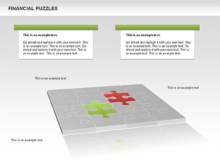 Financial Puzzle, Slide 8, 00656, Business Models — PoweredTemplate.com