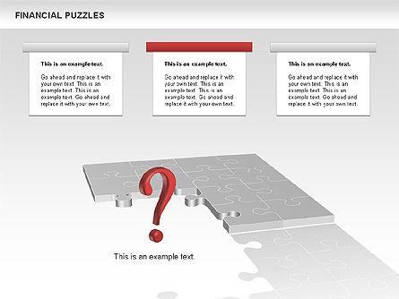 Financial Puzzle, Slide 9, 00656, Business Models — PoweredTemplate.com