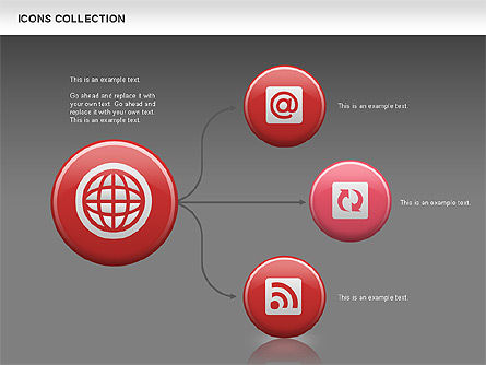 Internet Icons Collection, Slide 15, 00658, Icons — PoweredTemplate.com