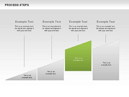Process Steps Diagram, Slide 3, 00662, Process Diagrams — PoweredTemplate.com