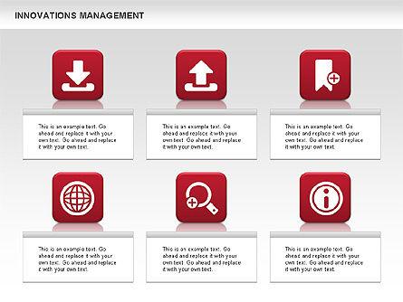 Innovations Management Diagram, Slide 2, 00663, Business Models — PoweredTemplate.com