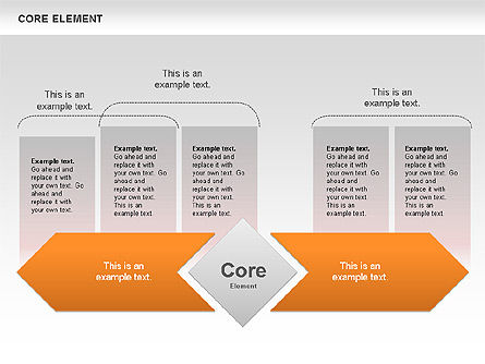 Business Models: Core Element Diagram #00667