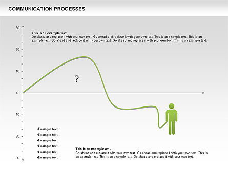 Communication Process Diagram, Slide 3, 00668, Process Diagrams — PoweredTemplate.com