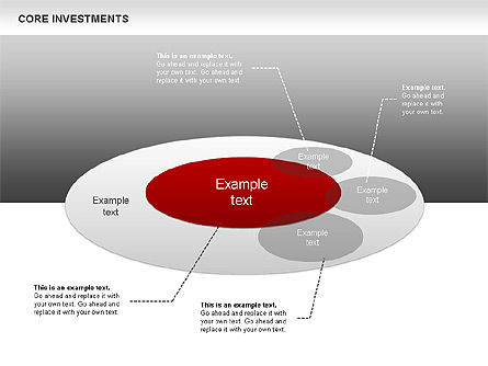 Business Models: Core Investments Diagram #00669