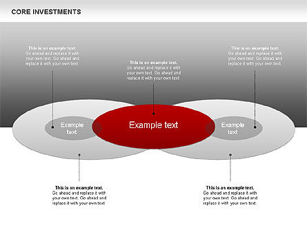 Core Investments Diagram, Slide 3, 00669, Business Models — PoweredTemplate.com