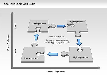 Stakeholder Analysis Diagram For Powerpoint Presentations
