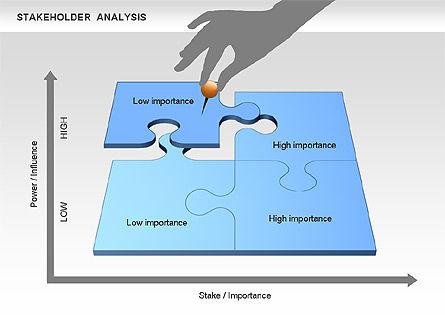 Stakeholder Analysis Diagram, Slide 4, 00670, Business Models — PoweredTemplate.com