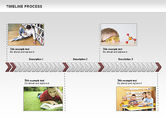 Timelines & Calendars: Timeline Process Diagram #00671