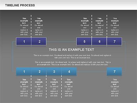 Blue Blocks Timeline Process Toolbox, Slide 11, 00673, Timelines & Calendars — PoweredTemplate.com