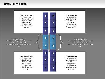 Blue Blocks Timeline Process Toolbox, Slide 14, 00673, Timelines & Calendars — PoweredTemplate.com