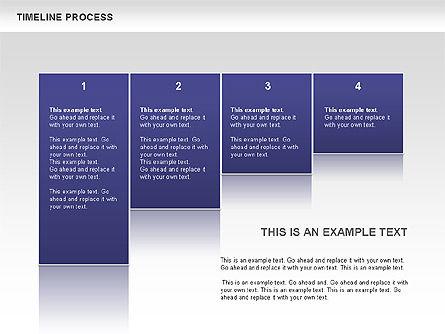 Blue Blocks Timeline Process Toolbox, Slide 6, 00673, Timelines & Calendars — PoweredTemplate.com
